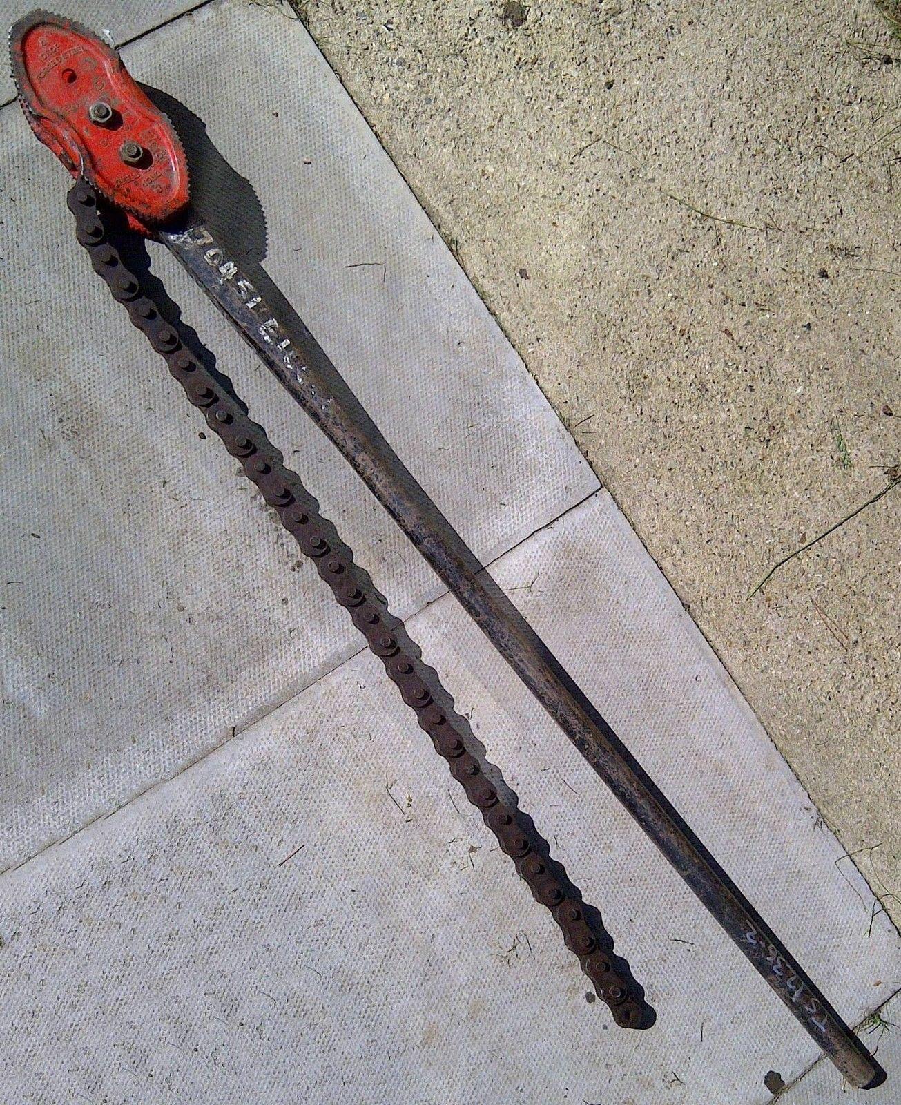 Werkzeuge Rollgabelschlüssel Otc 6969 24 Ratcheting Chain Wrench