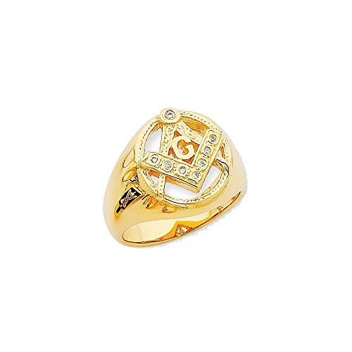 Width:5 To 17 Mm (tapered)Average Weight:11.57 GmAttributes:* Casted *Polished *14k Yellow Gold *Diamond *Not Engraveable *Bezel *Aaa Quality *Mens Stone Type1:Di...