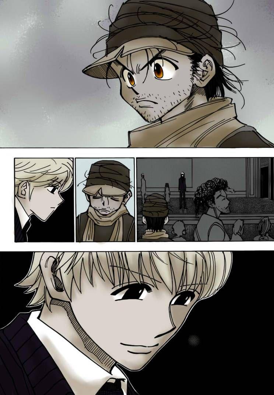 Ging and Pariston (HxH 333) by KayJayO Hunter anime