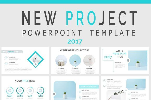New Project Powerpoint Sale Of By Slidebester On Creativemarket