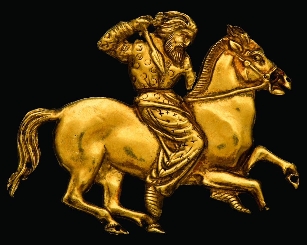 Scythian archers charm, Hermitage Museum   British museum