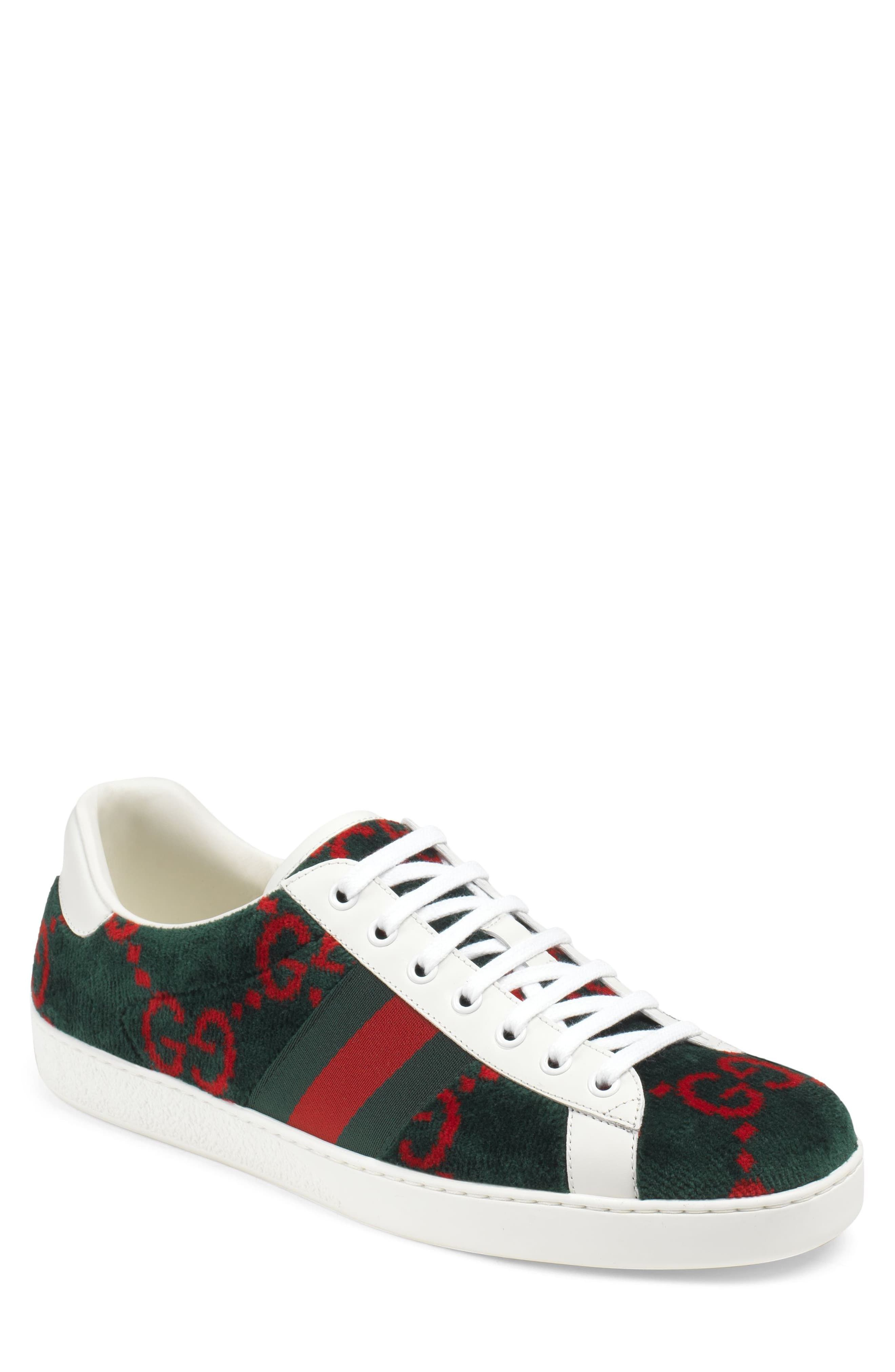 9ac40dc3e9 Men's Gucci New Ace Gg Logo Sneaker, Size 6US / 5UK - Brown in 2019 ...