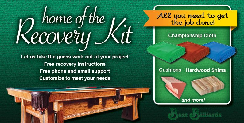 Best billiards home of the recovering kit do it