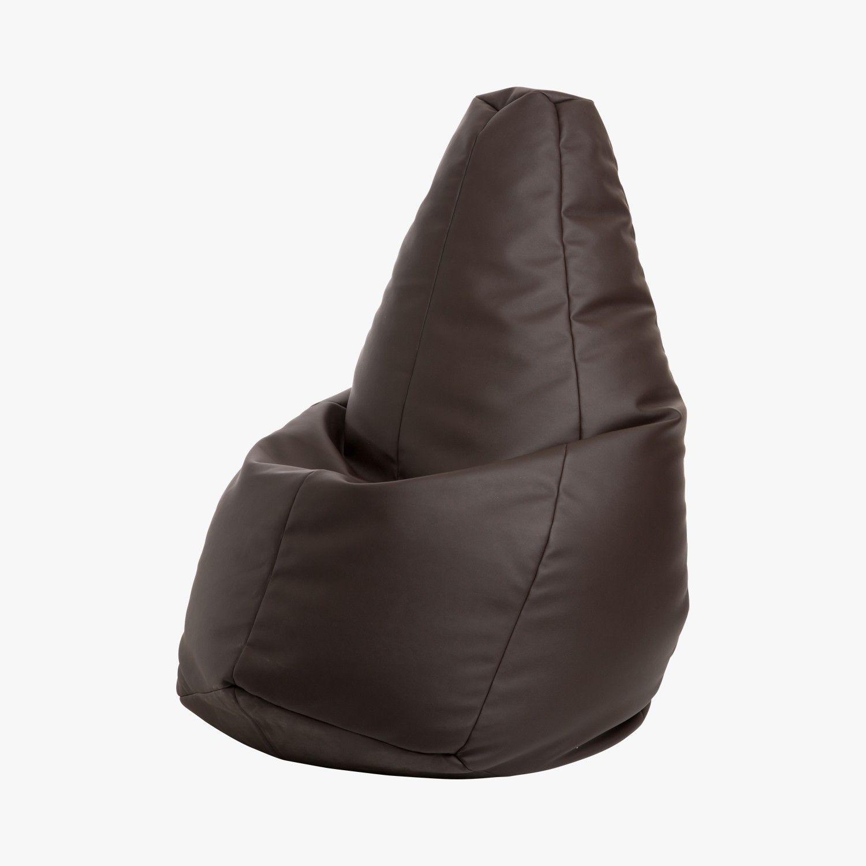 pouf sacco volo chocolat zanotta lebonmarche home. Black Bedroom Furniture Sets. Home Design Ideas