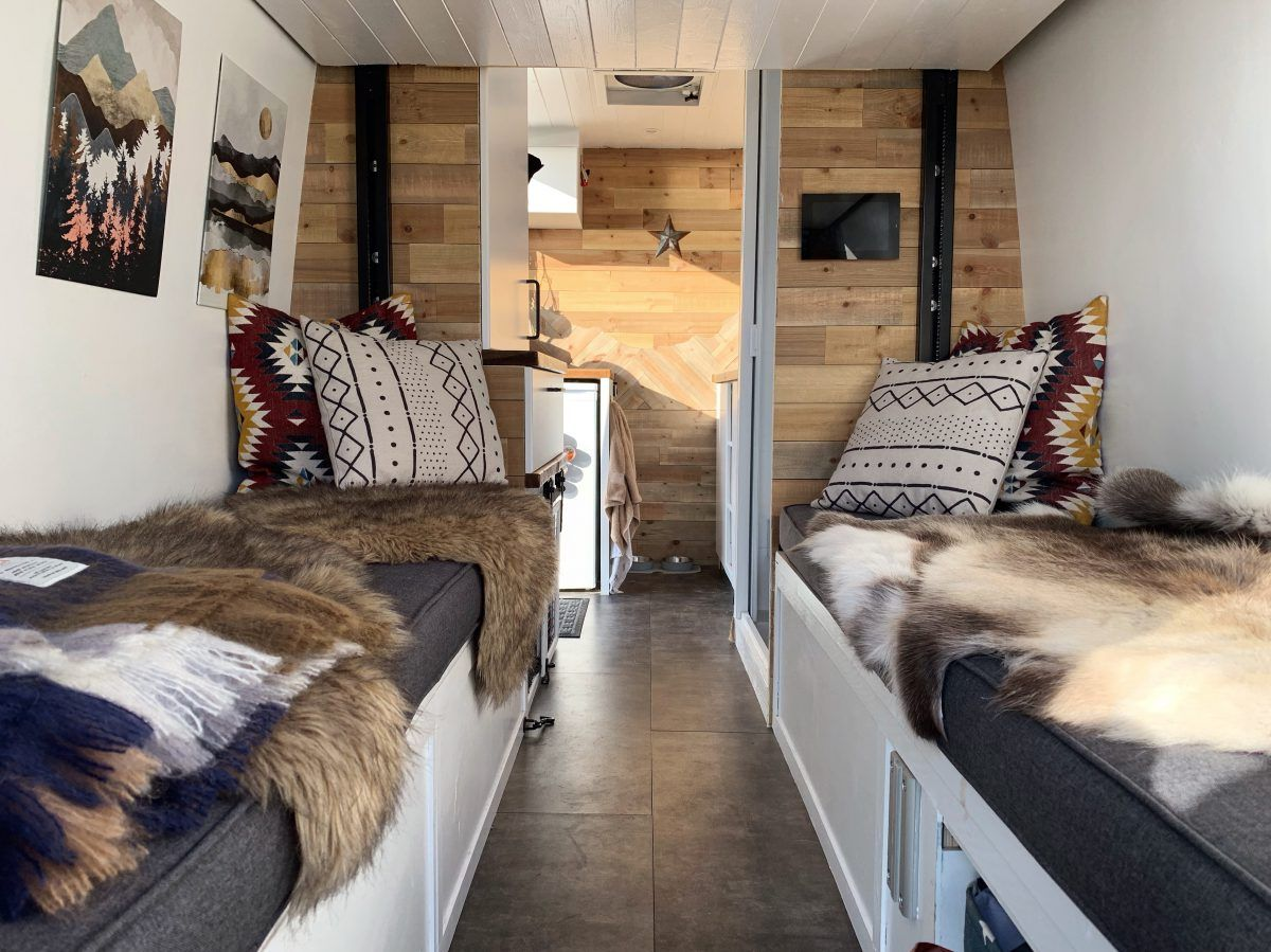 Our Van Layout Why we Chose a Happijac Bed Lift To the