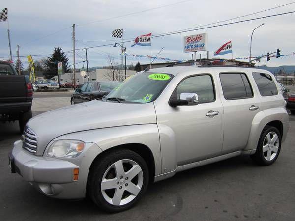 2006 Chevy Hhr Lt Sedan Chevy Hhr Cars For Sale Used Cars