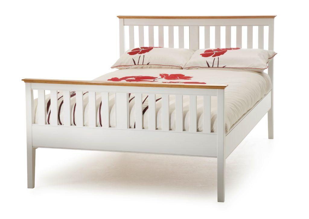 White Wood Super King Bed Frame   Bed Frames Ideas   Pinterest
