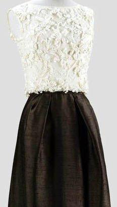 Tailleur veste et jupe longue