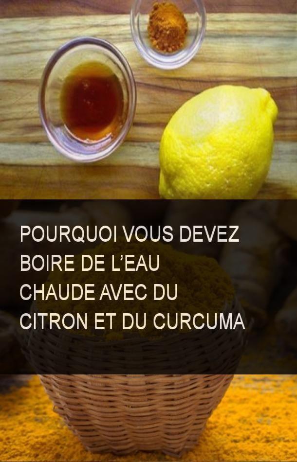 Pourquoi vous devez boire de l'eau chaude avec du citron