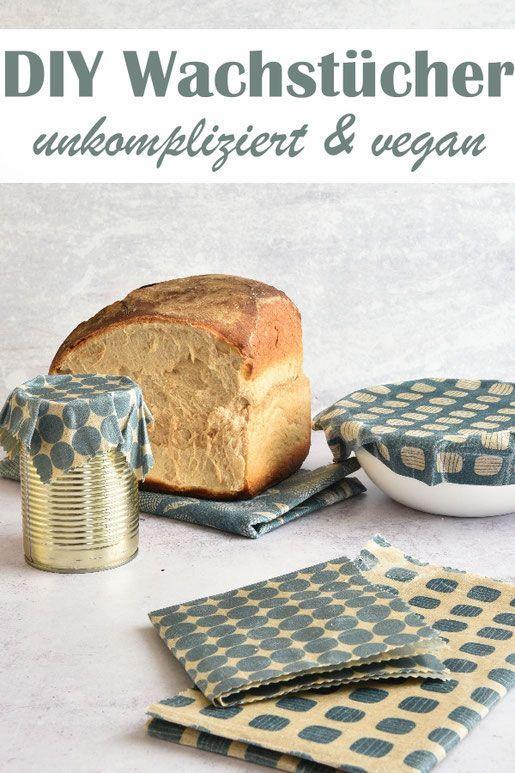 Wachstücher und Wachstuch-Brotbeutel. Ganz leicht selbst gemacht. #projectstotry