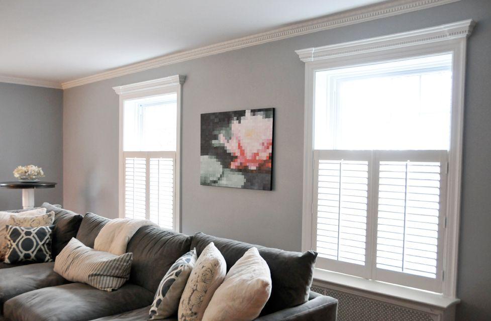 Light Gray Walls Dark Gray Couch Light Grey Walls Home Home