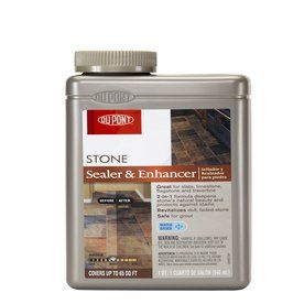 Dupont 32 Fl Oz Stone Enhancer Sublime Loves To Recommend The Dupont Brand In Stone Sealers Over The Years This Has Granite Sealer Stone Natural Stone Wall