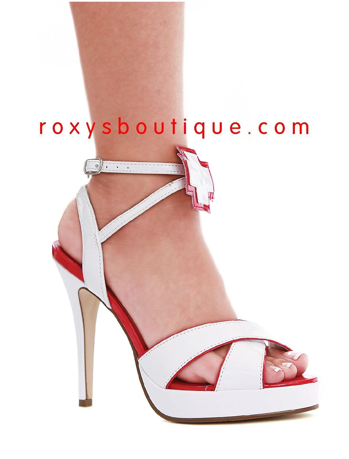4a28f88e2969 Nurse sandals with ankle strap