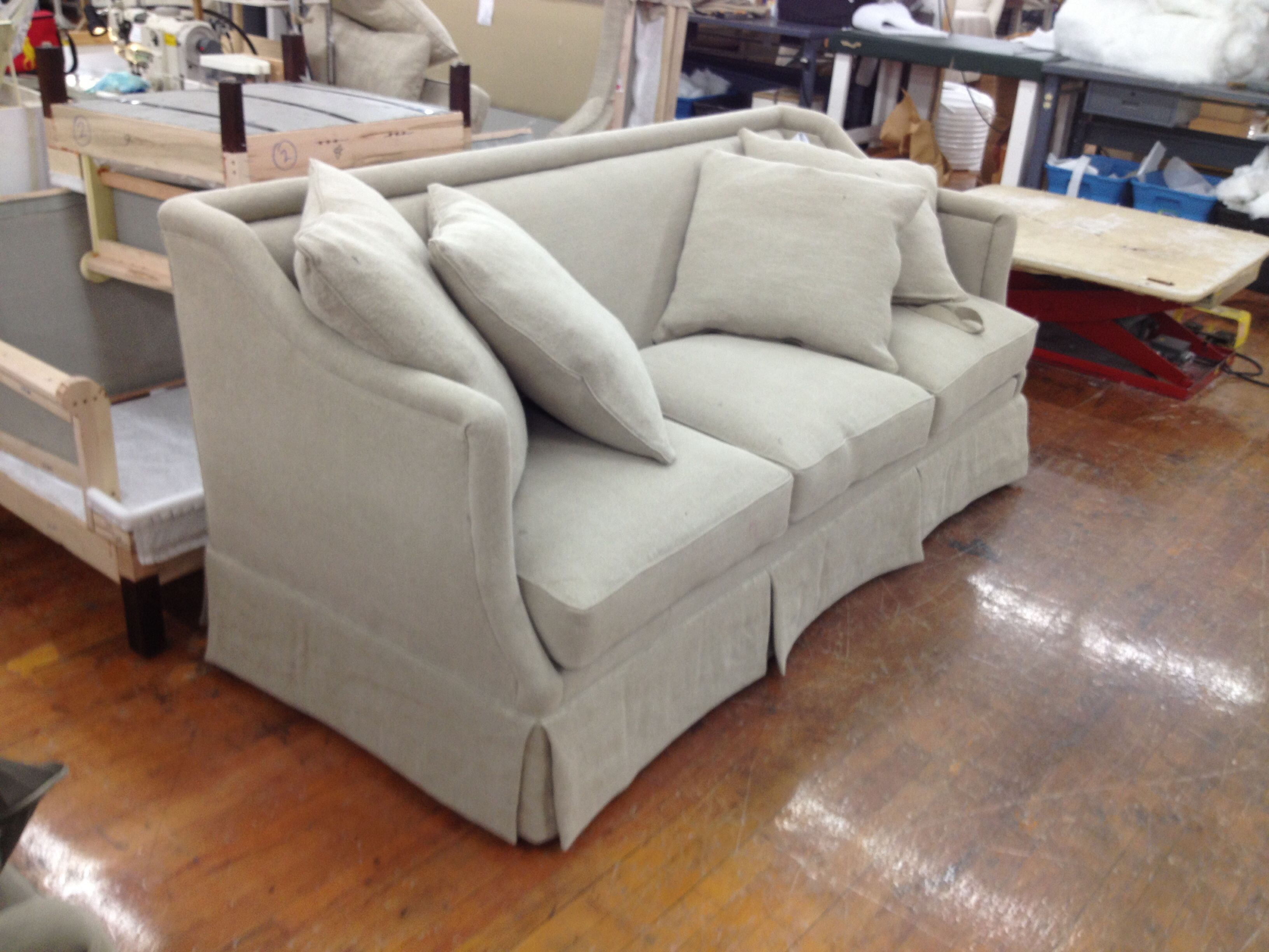 The Suzanne Kasler Southworth Sofa Made Custom With A