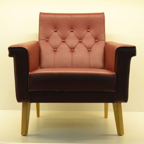 Poltrona armchair design vintage modernariato lady lounge relax ...