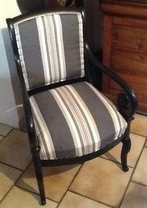 restauration fauteuil louis philippe fauteuil tapisser. Black Bedroom Furniture Sets. Home Design Ideas