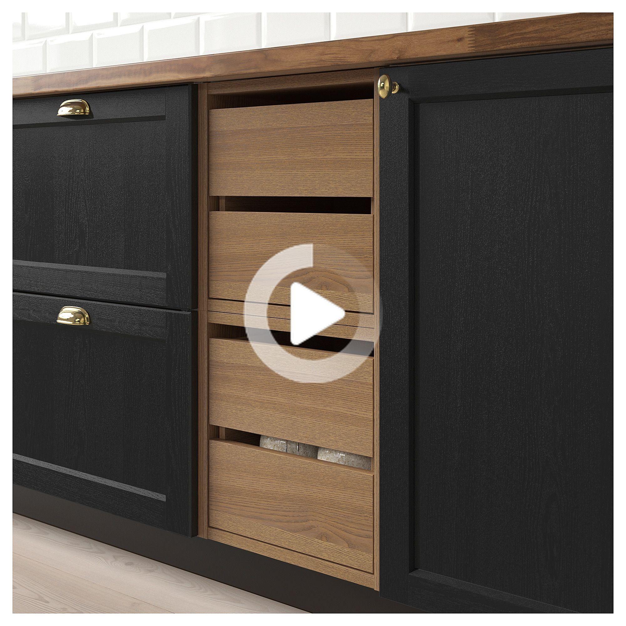 Ikea Vadholma Bloc Tiroirs Brun Frene Teinte En 2020 Meuble Rangement Ikea Decoration Chambre Traditionnelle Meuble Rangement