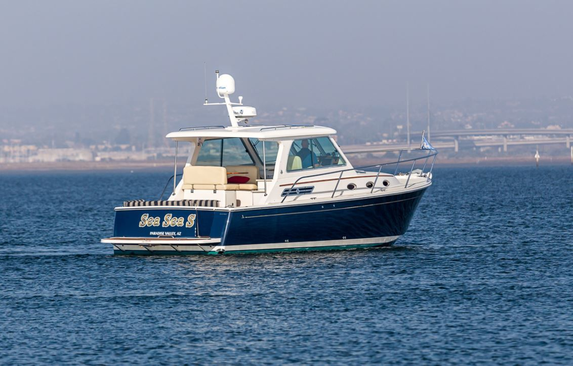 Just listed this sought after downeast style cruiser is