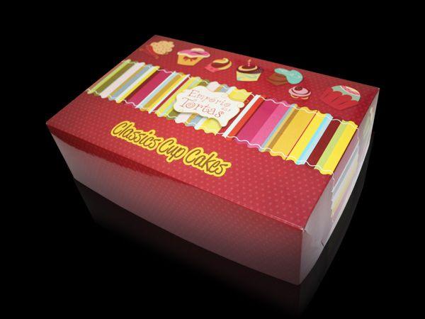 Embalagem Cupcake Empório das Tortas