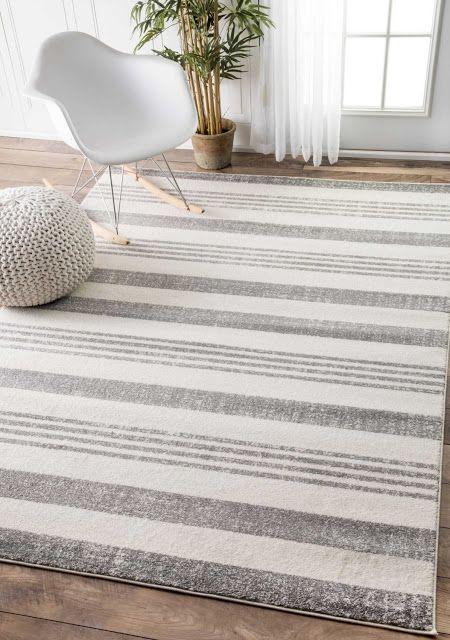 Gray Striped Rug Sale Farmhouse Rugs Cool Rugs Area Rugs