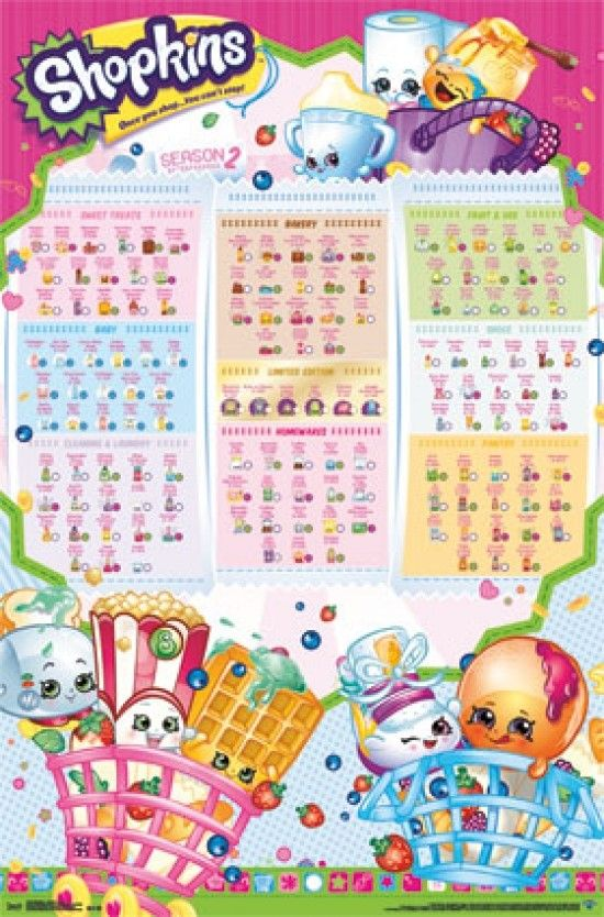 graphic about Shopkins Season 3 List Printable referred to as Printable Shopkins List - Yahoo Graphic Look Success