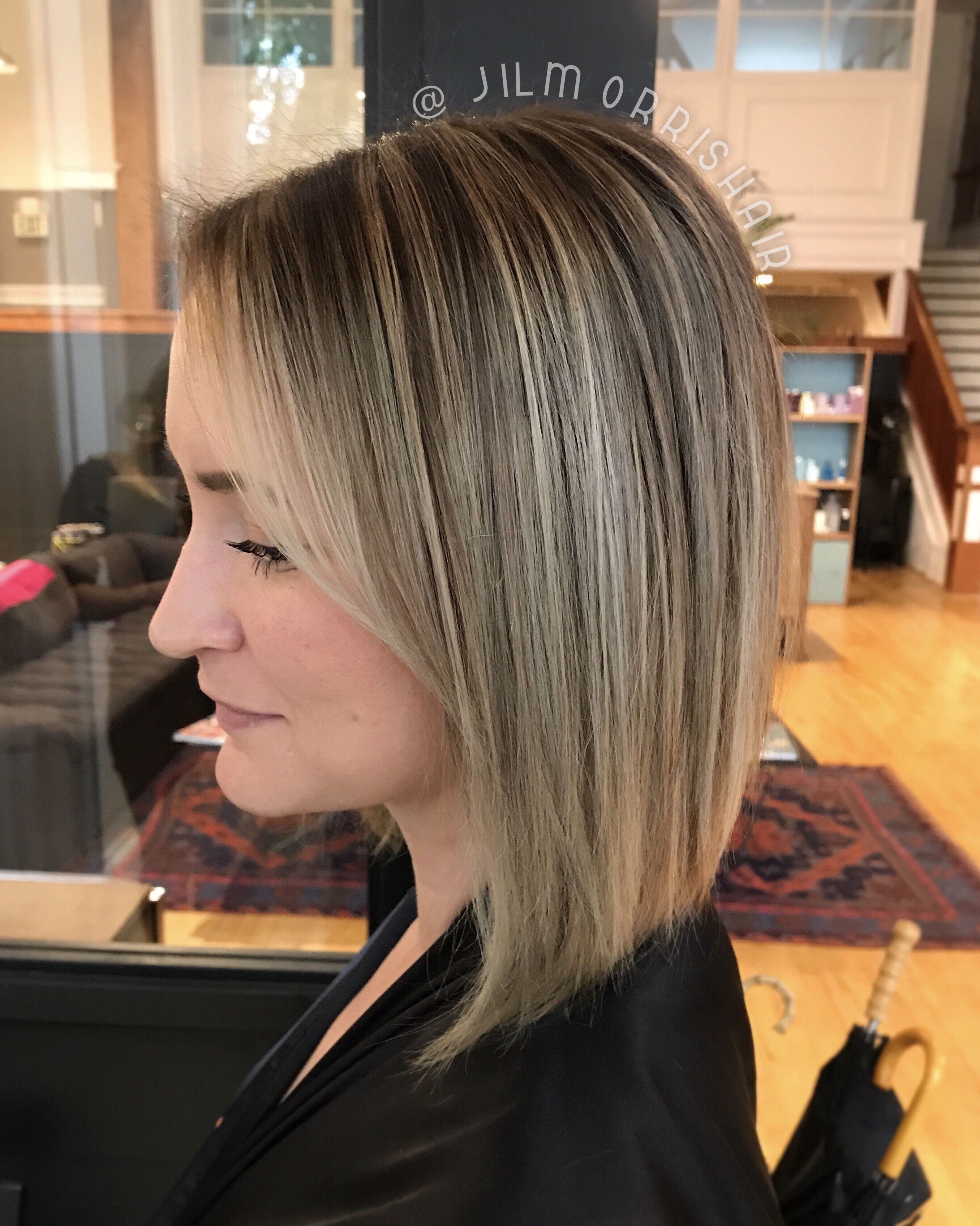 best hairstyle for 45 year old woman | balayage highlights, blonde