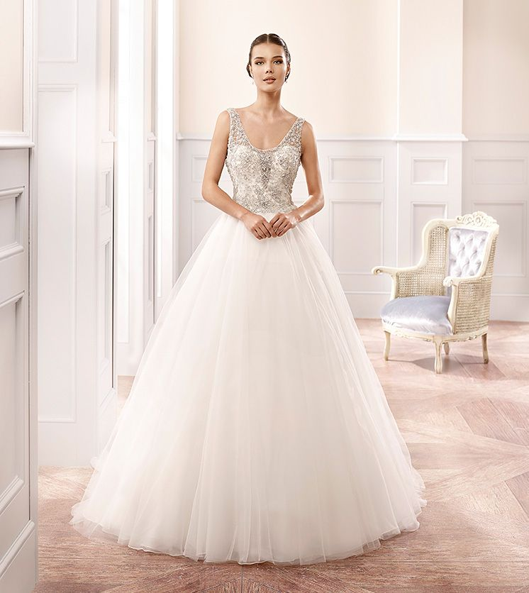Eddy K Milano Style MD169 Wedding Ball Gown Fabric Soft Tulle