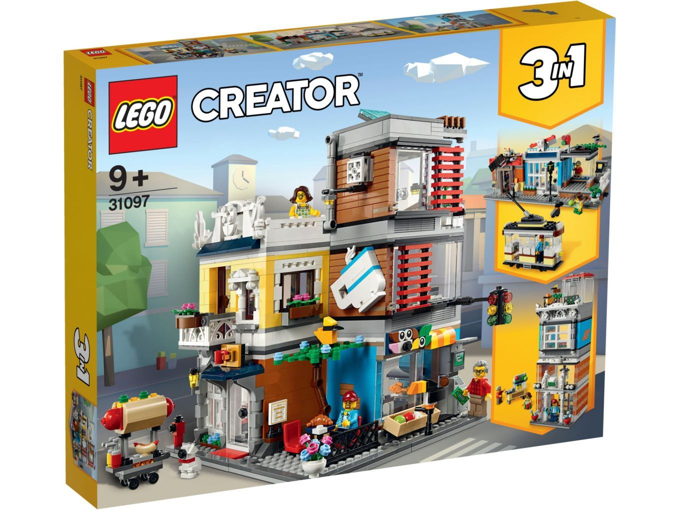 Lego Creator Summer 2019 Wave Features A New Fairground Ride Townhouse Helicopter And More News Lego Creator Lego Cafe Signage