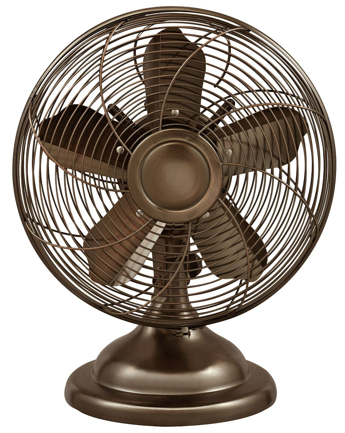 Amazon.com   Optimus F 6212 Oscillating Antique Table Fan, 12 Inch, Copper    Electric Household Tabletop Fans
