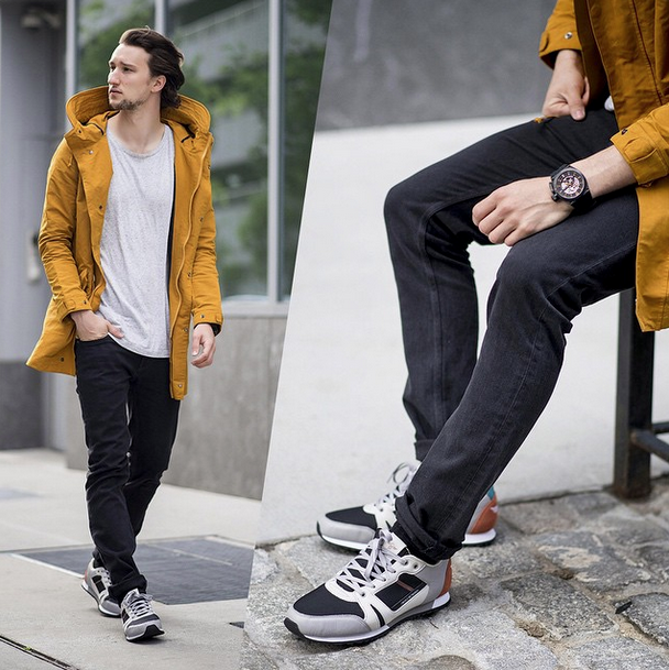#OneDapperStreet wears the CASSO Charcoal for Summer '15.