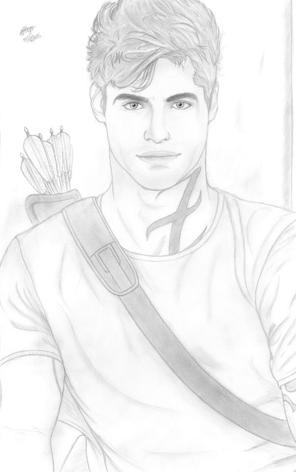 My Drawing Of Alec Lightwood From The Mortal Instruments My