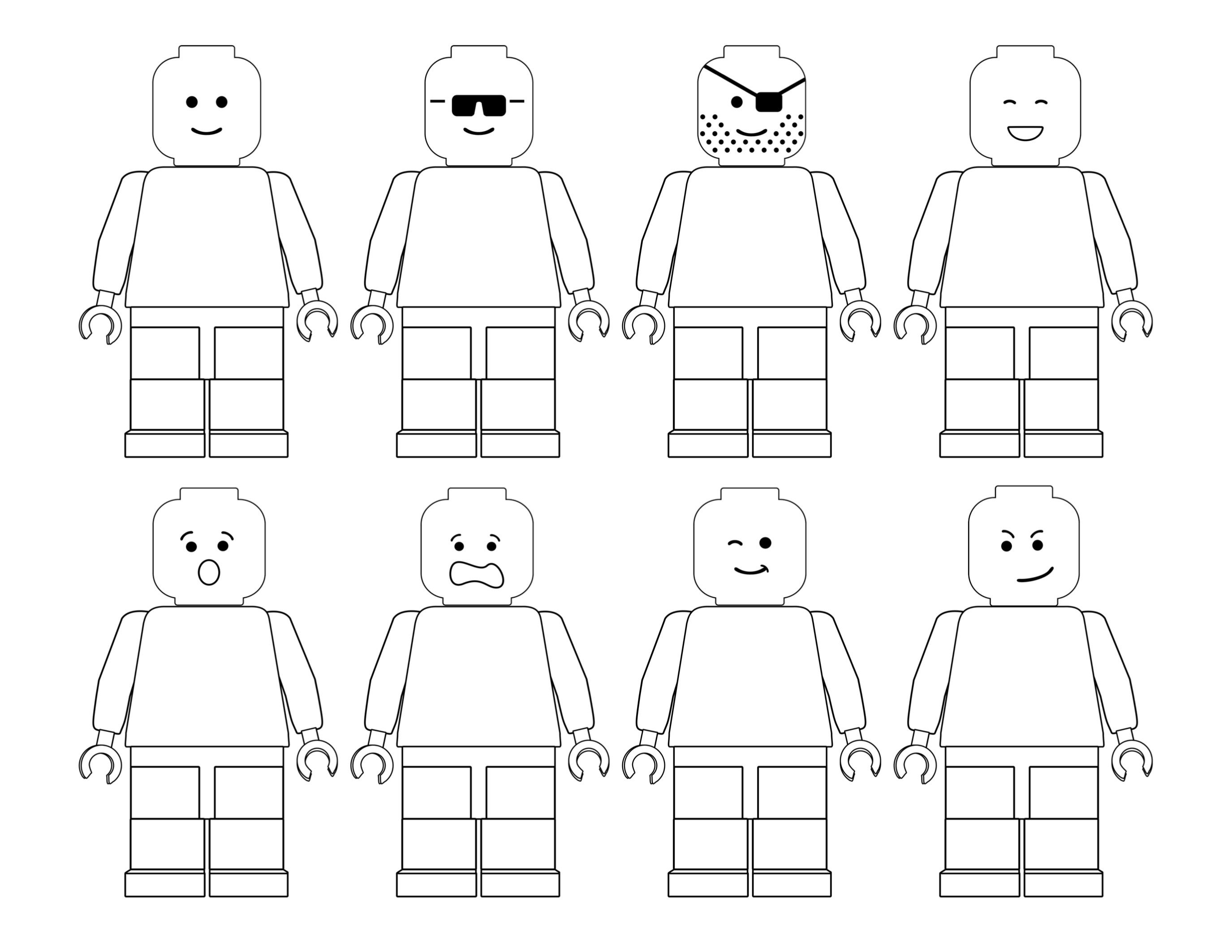 Free Printable Lego Coloring Pages Kid Parties Lego Coloring