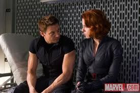 Jeremy Renner and Scarlett Johansson  The best avengers couple ever!!!!! Marvel needs to make sure they end up together!!!!!