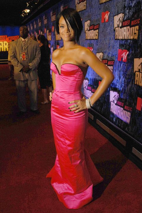 Rihanna At The 2007 MTV Video Music Awards VMAs Fashion Has Been As Memorable People It See All Wildest Looksover Its History
