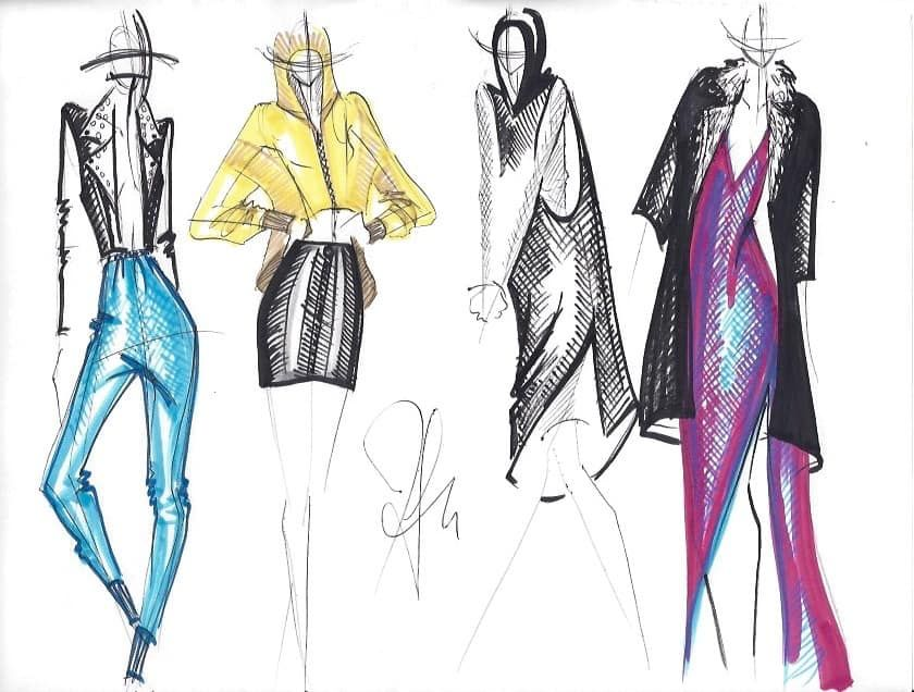 Designer Shares Tips For Creating Your Own Fashion Design Process Fashion Mingle Fashion Design Sketches Fashion Design Fashion