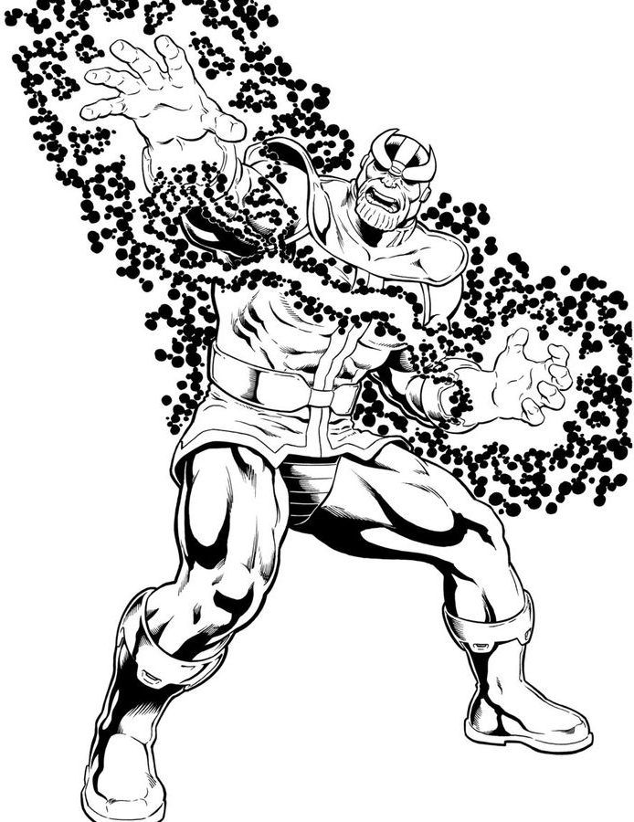 Thanos Bilder Zum Ausdrucken E1550114110996 Ausmalbilder Marvel Ausmalen
