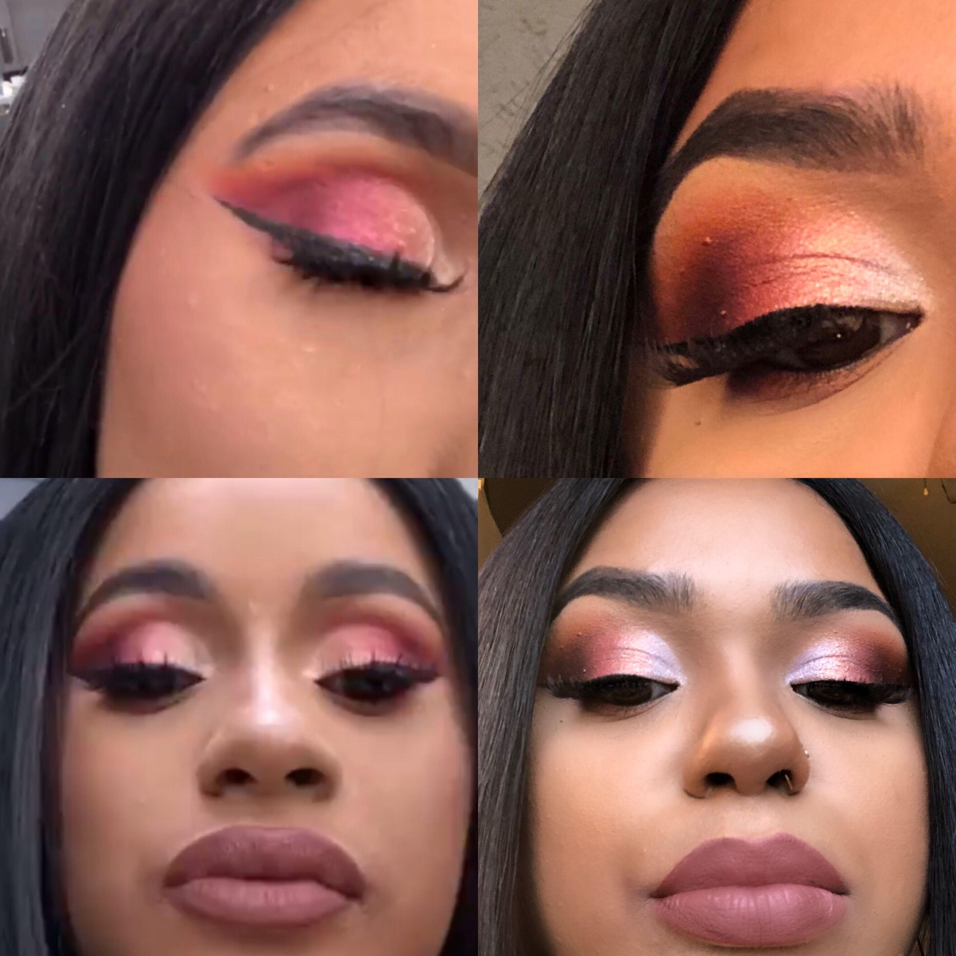 Cardi B Eyebrows: Pin By Adriana 💜 😜😍💚 On Makeup