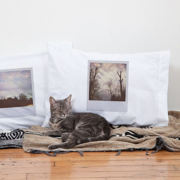 Polaroid photo pillow cases – Stay Home Club