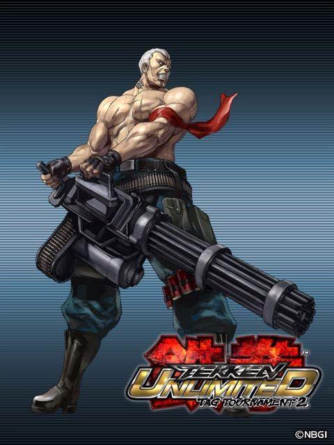 Bryan Fury Tekken Tag Tournament 2 Jogos De Luta Luta Desenho Anatomia