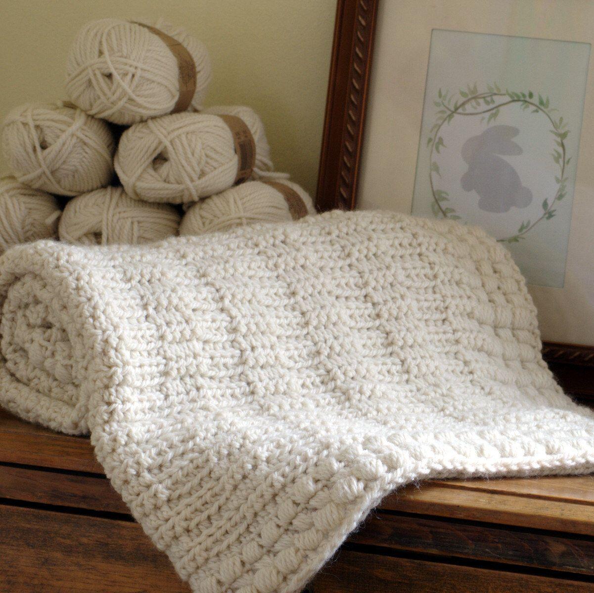 Baby Blanket Crochet Pattern New Baby Afghan Boy Blanket Pattern ...