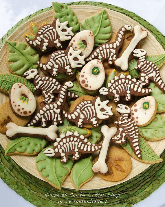 Dinosaur Mini Cookie Cutter Set