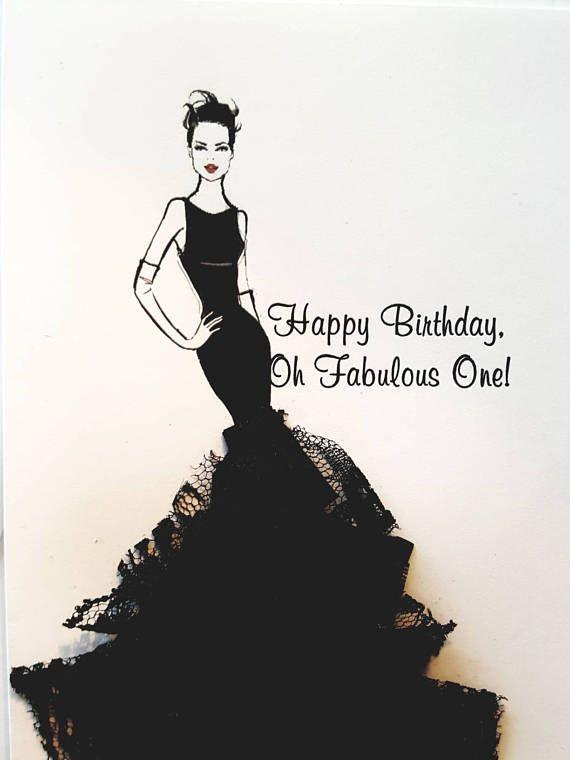 Birthday Card For Her Fabulous Birthday Card Fashion