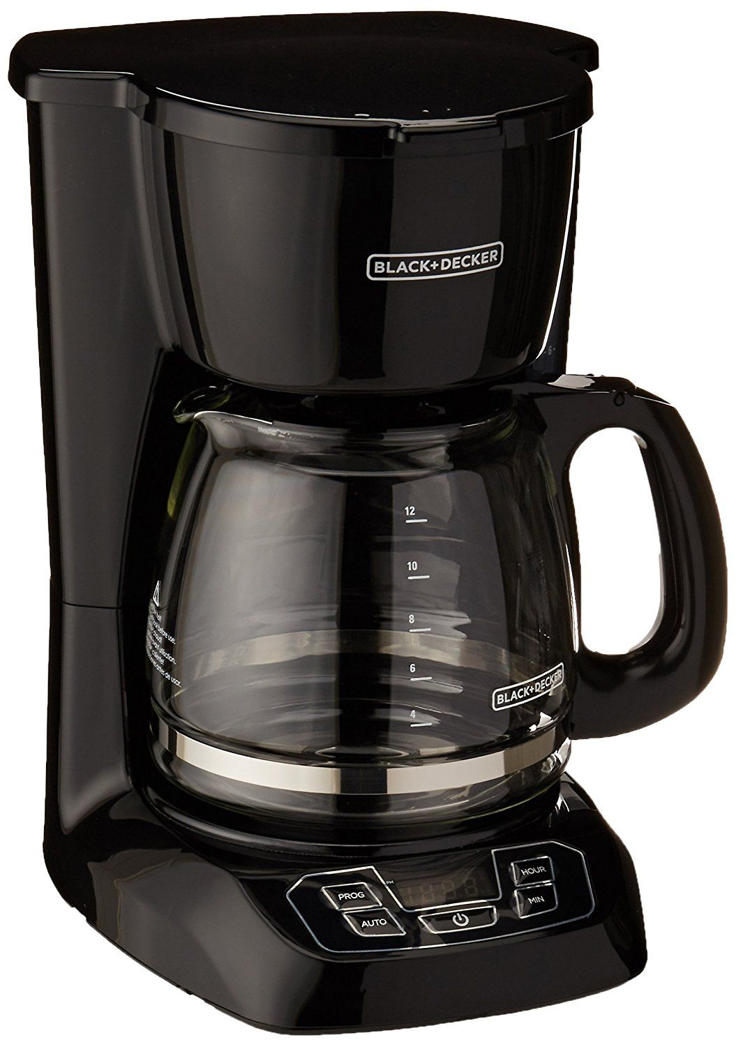 Black and Decker BCM1410B 12Cup Programmable Coffeemaker