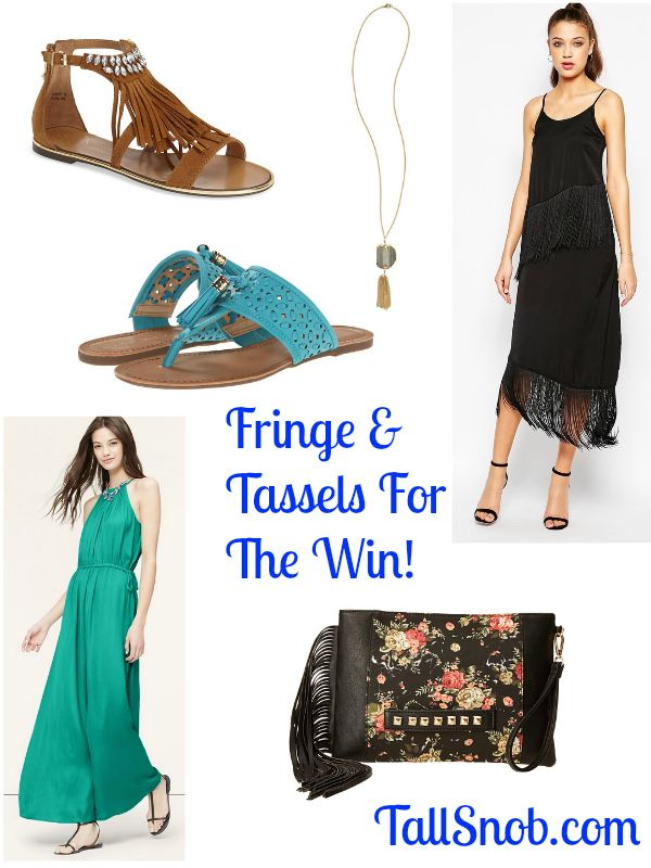 6591d22afc4a9 Tall Trends: Fringe and Tassels for the Win - Tall Snob Clothing For Tall  Women