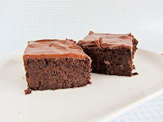 Black Bean Brownies/Brownies mit schwarzen Bohnen ~ Backgasse