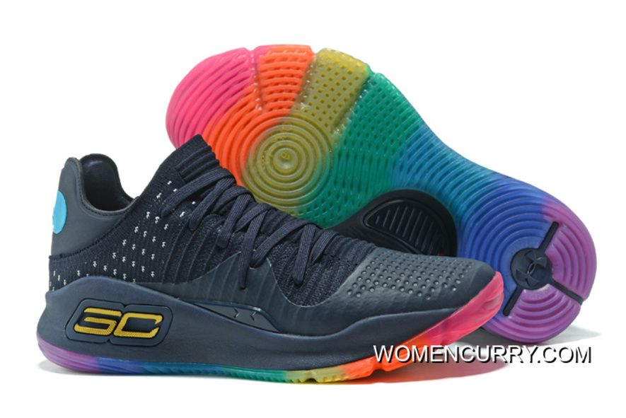 "e29ad8fffa78 Under Armour Curry 4 Low ""Be True""Basketball Sneakers New Style in ..."
