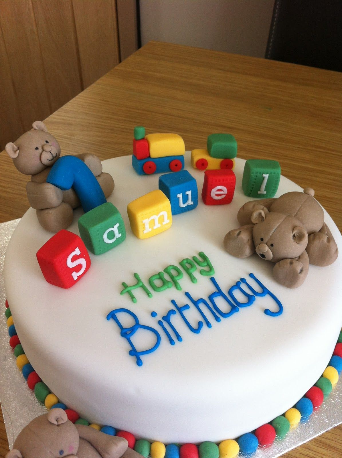how to make a 1st birthday cake ideas