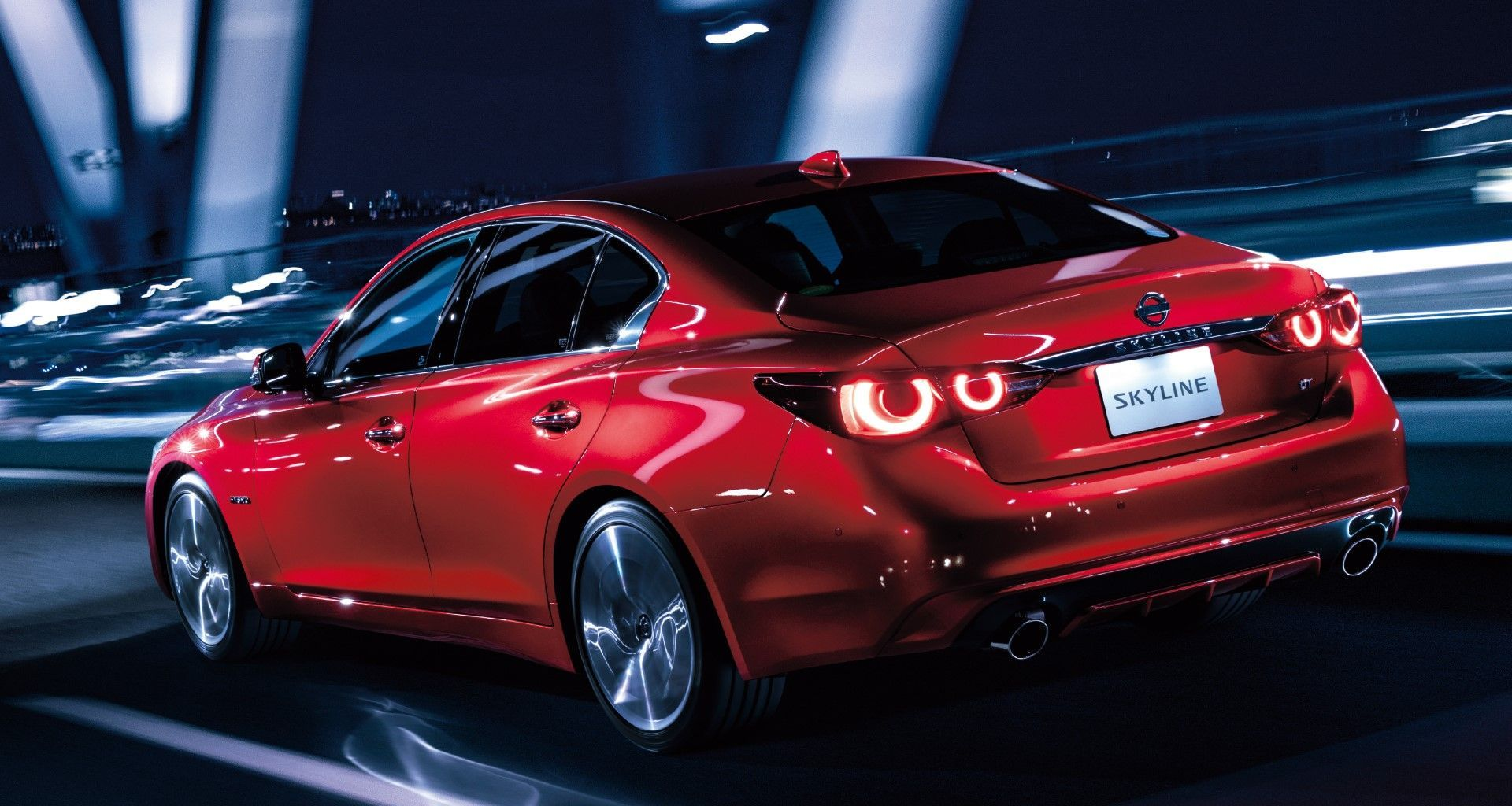 2020 Nissan Skyline [V37]. Infiniti Q50 design, with