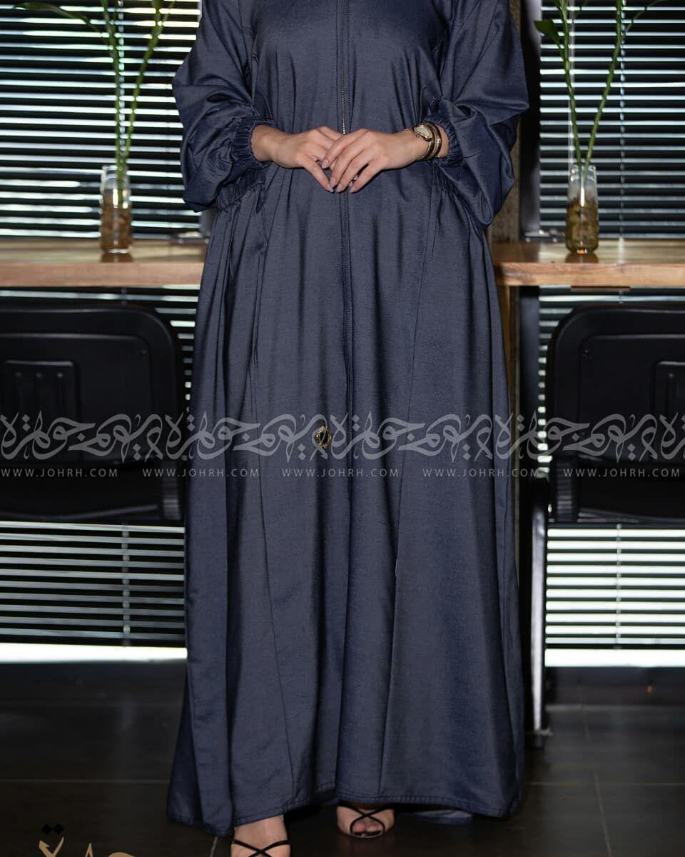 عباية جينز ناعم كلاسيك بجيوب رقم الموديل 1639 السعر بعد الخصم 236 متجر جوهرة عباية عبايات ستايل عباية Maxi Dress Fashion Dresses