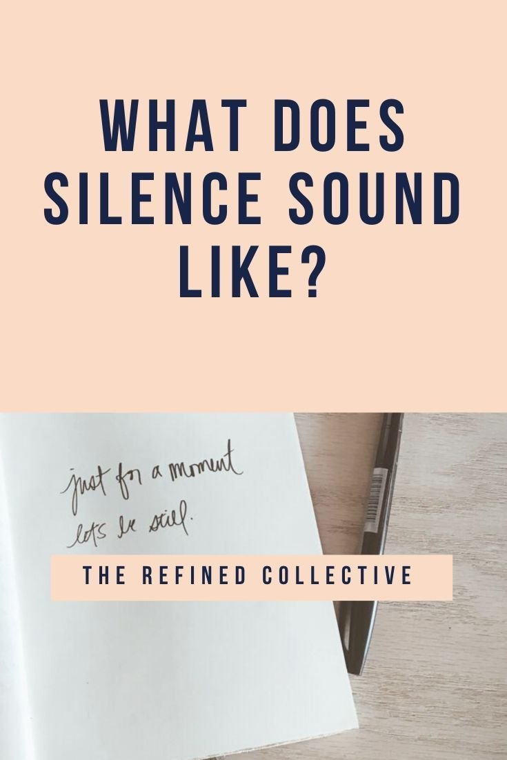 Do you know what silence really sounds like? Or what listening really sounds like? Tune in to The Re...